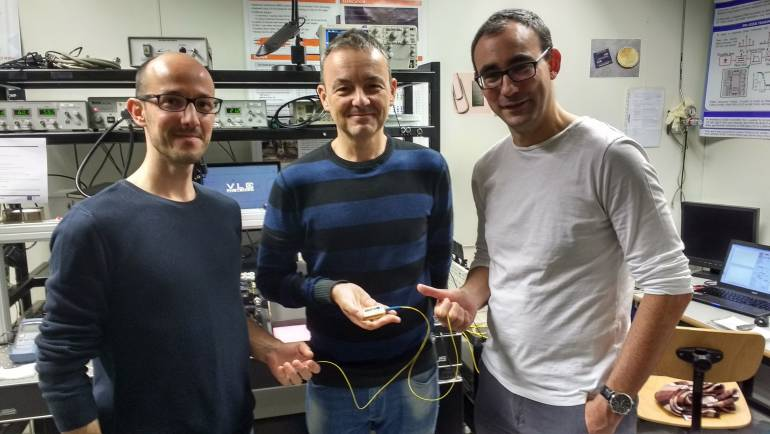 ITEAM and Spin off VLC Photonics researchers have designed a pioneering Photonic Chip