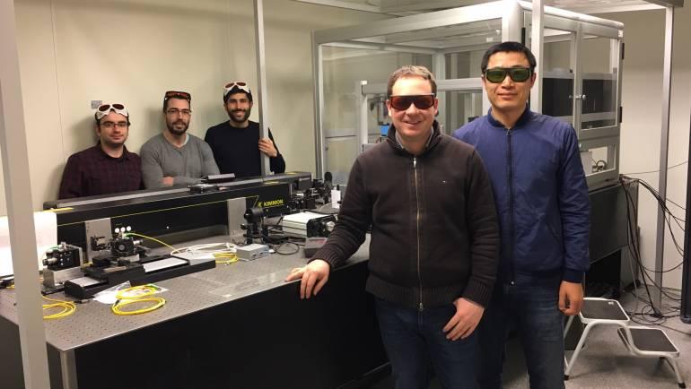 Optical sensors nervous system