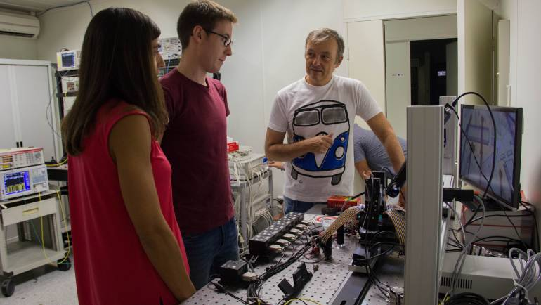 PRL and ORC researchers have developed a multipurpose silicon photonics signal processor core