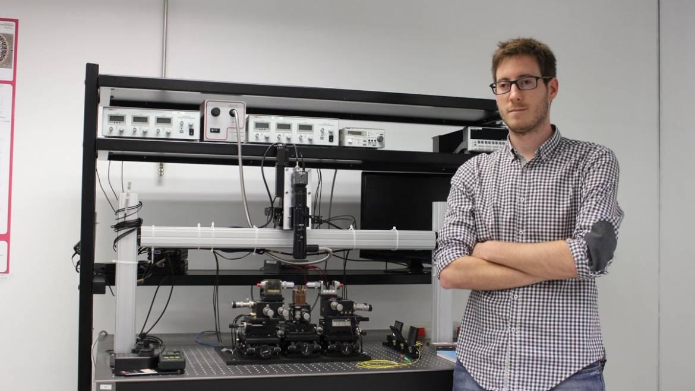 Daniel Pérez receives the COIT best Spanish PhD thesis award